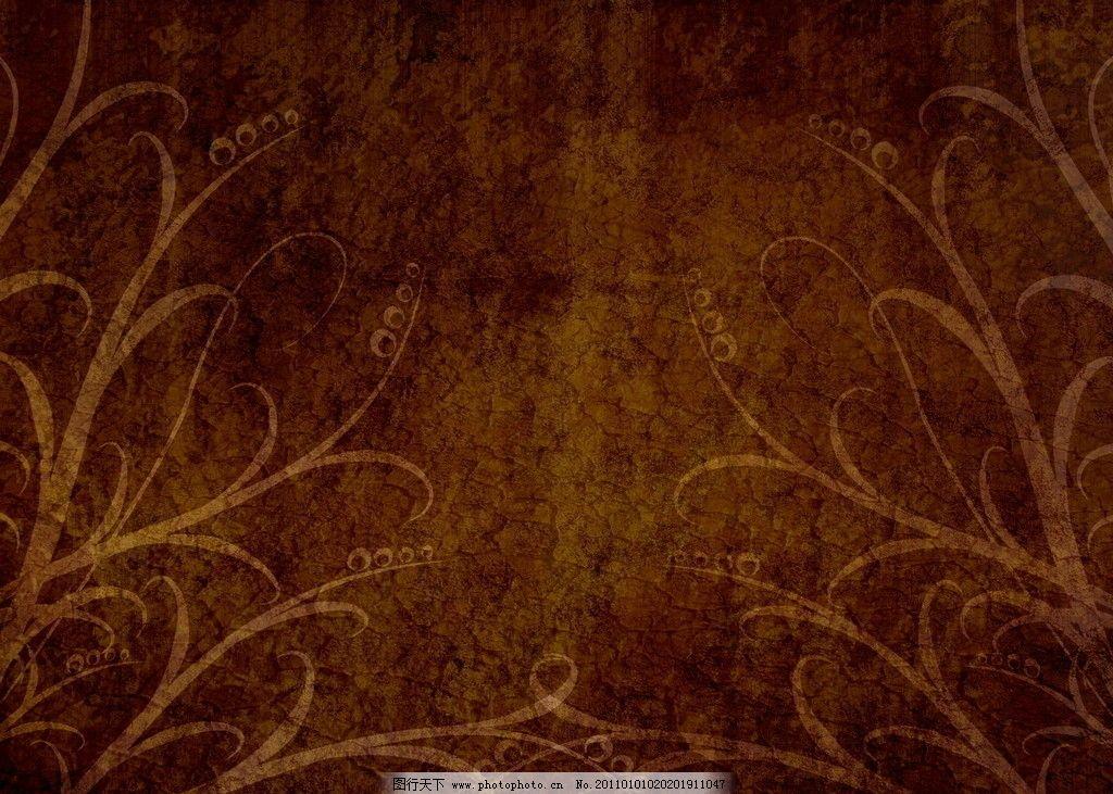 暖色条纹壁纸贴图素材