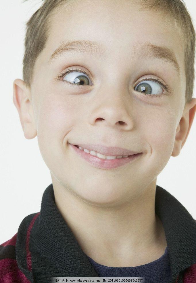 搞怪小男孩 外国小男孩 国外小男孩 儿童 幼儿 儿童幼儿高清图片