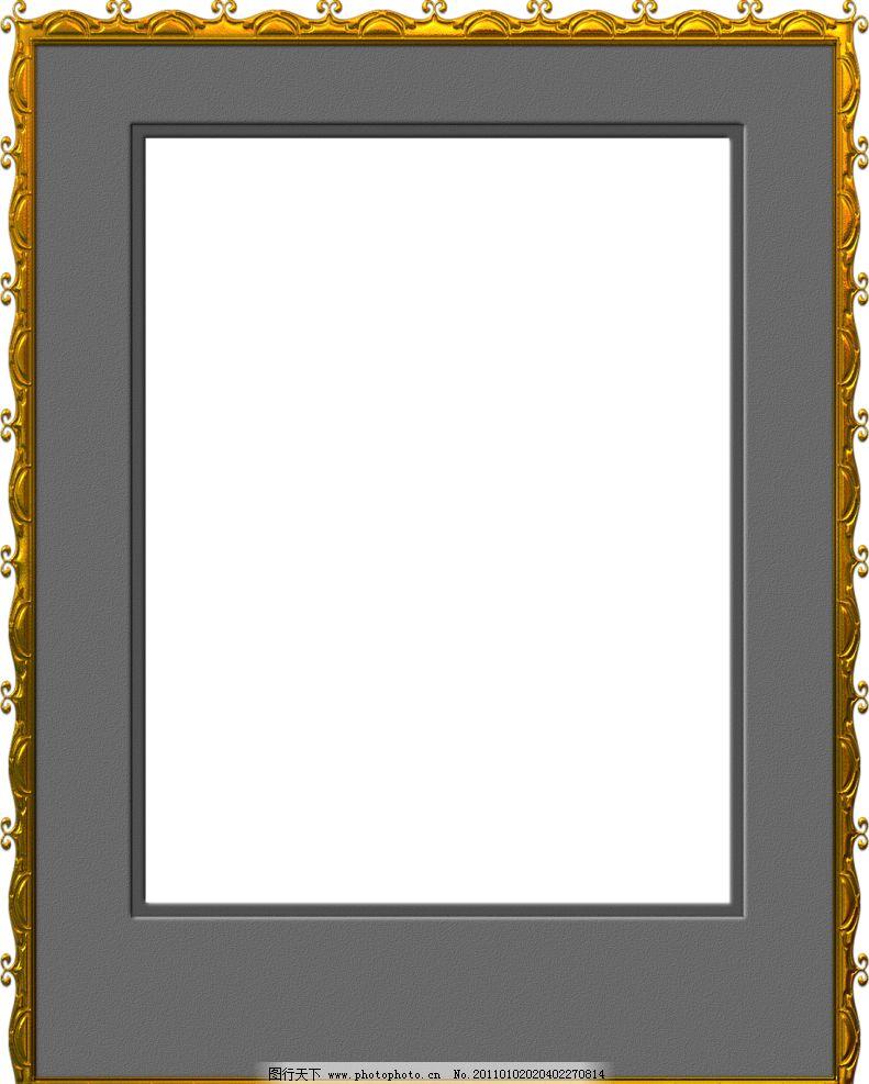 金色花纹边框 金色花纹 边框 欧式花纹 底纹边框 时尚花纹 花纹相框