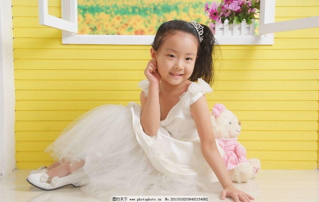 小女孩 儿童 舞蹈 漂亮 可爱 写真 高清 儿童幼儿 人物图库 摄影 72