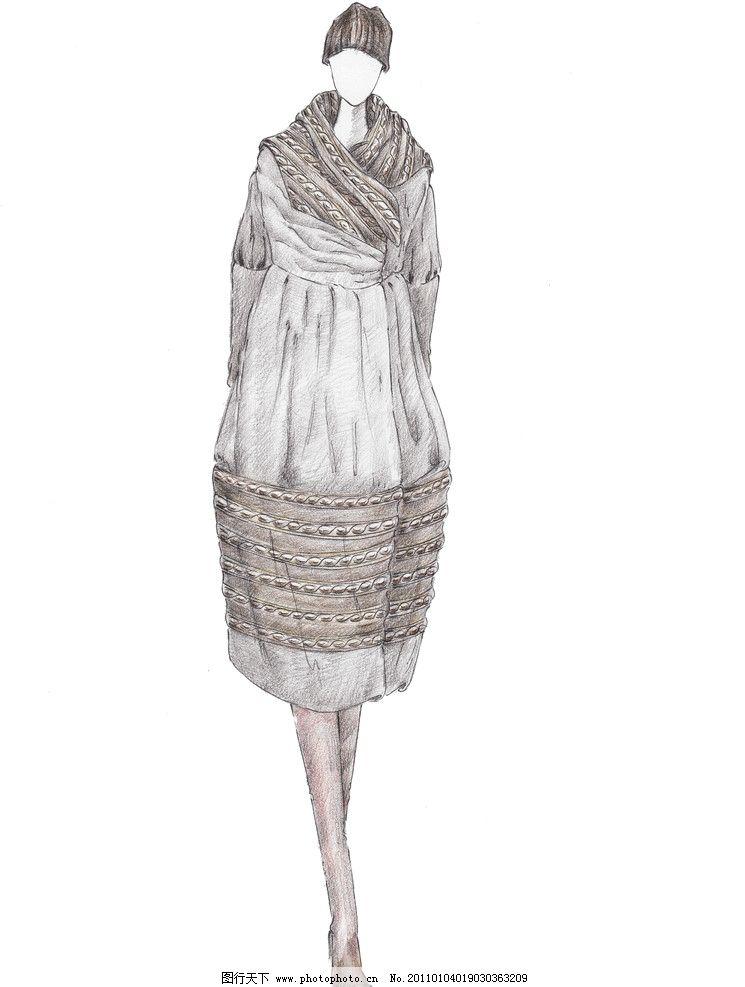 服装效果图        设计稿 服装设计稿 服装画 手绘时装画 上衣 裙子
