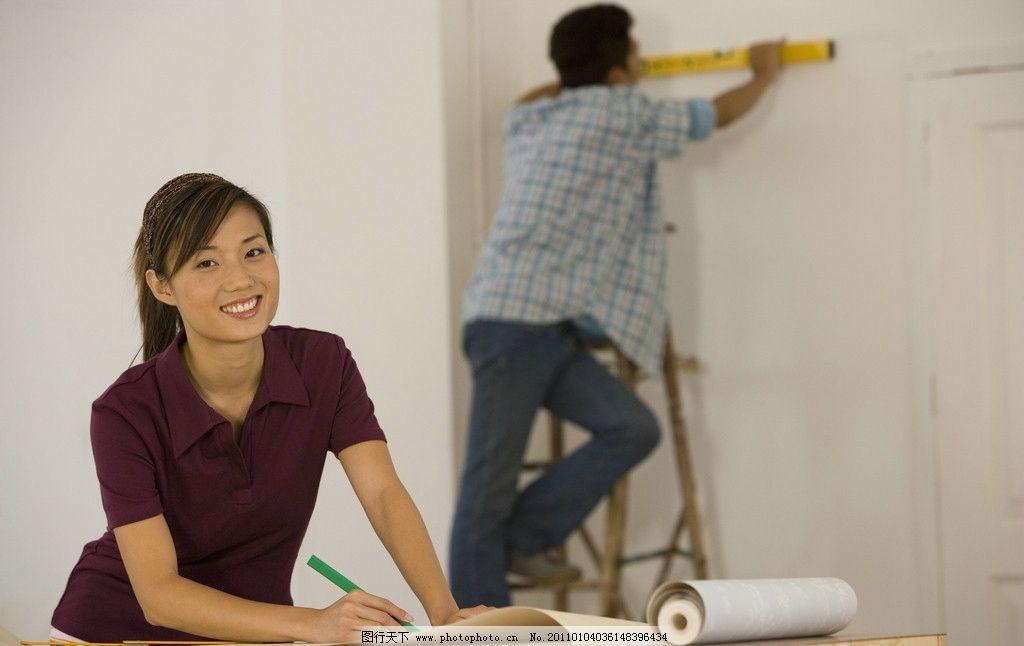 情侣装修房子图片