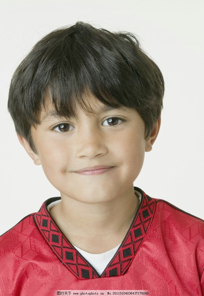 男孩 微笑 笑容 笑脸 脸部特写 外国小男孩 国外小男孩 儿童