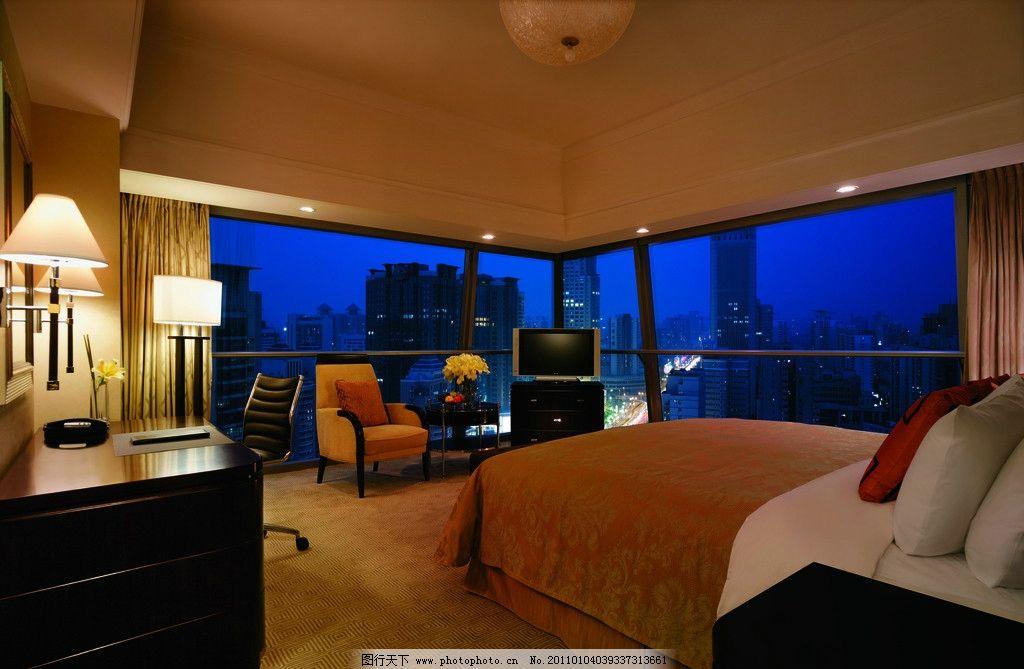 酒店卧室图片
