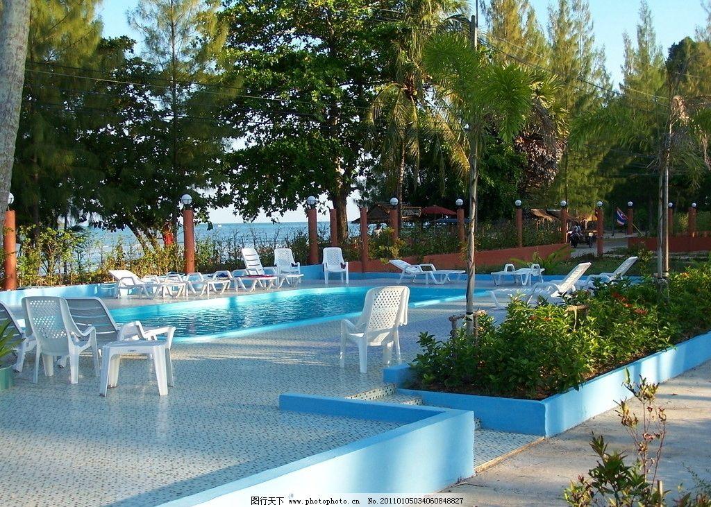 泰国普吉岛风光之游泳池图片