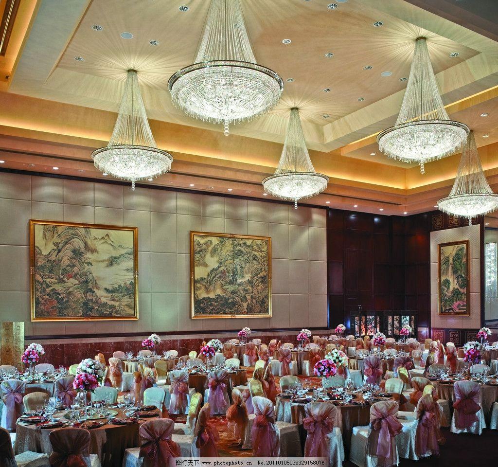 香格里拉宴会厅 宴会厅 酒店设计 五星级酒店 水晶灯 香格里拉酒店
