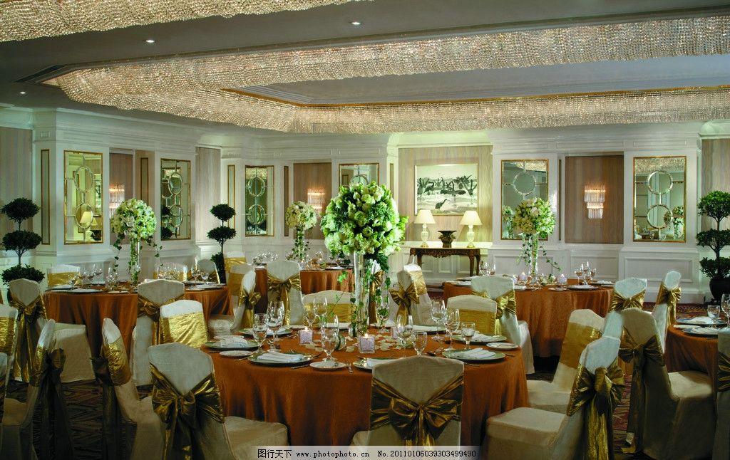 酒店宴会厅 宴会厅 酒店设计 五星级酒店 水晶灯 香格里拉酒店 背景墙