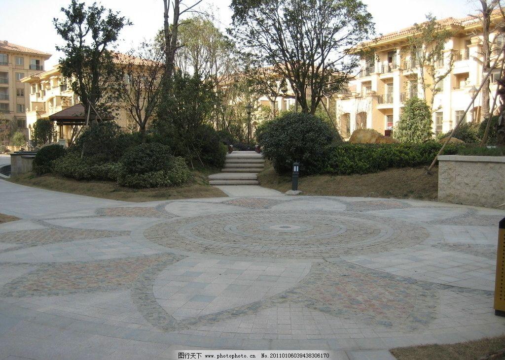 铺地 铺装 拼花 圆形广场 建筑摄影 建筑园林 摄影 180dpi jpg