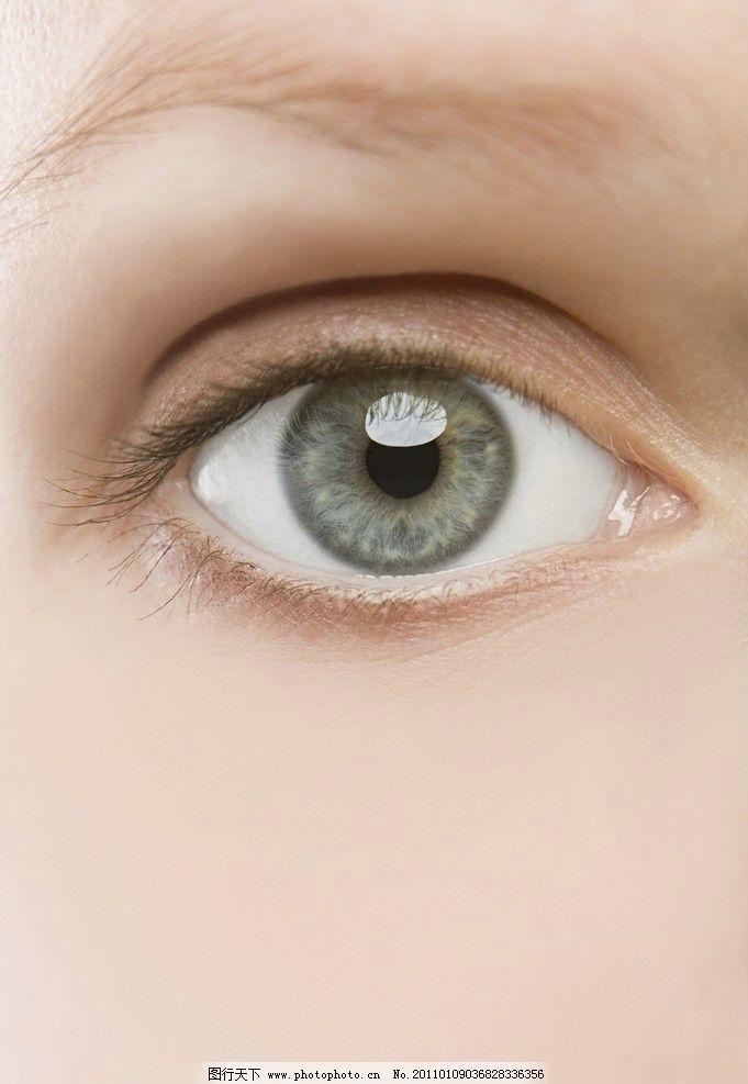 摄影图库 人物图库 女性女人  明亮眼睛 眼睛 眼球 眼珠 眼影 眼神