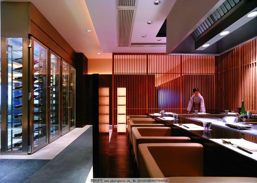 中式酒店木格栅表皮