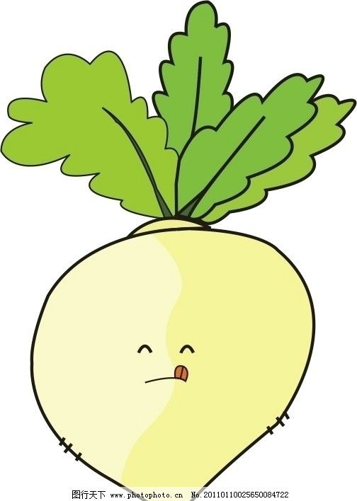 可爱卡通萝卜图片