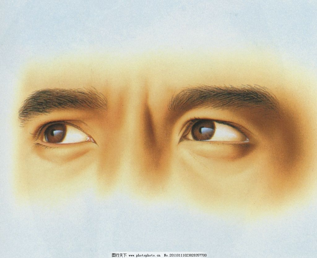 男人眼睛图片