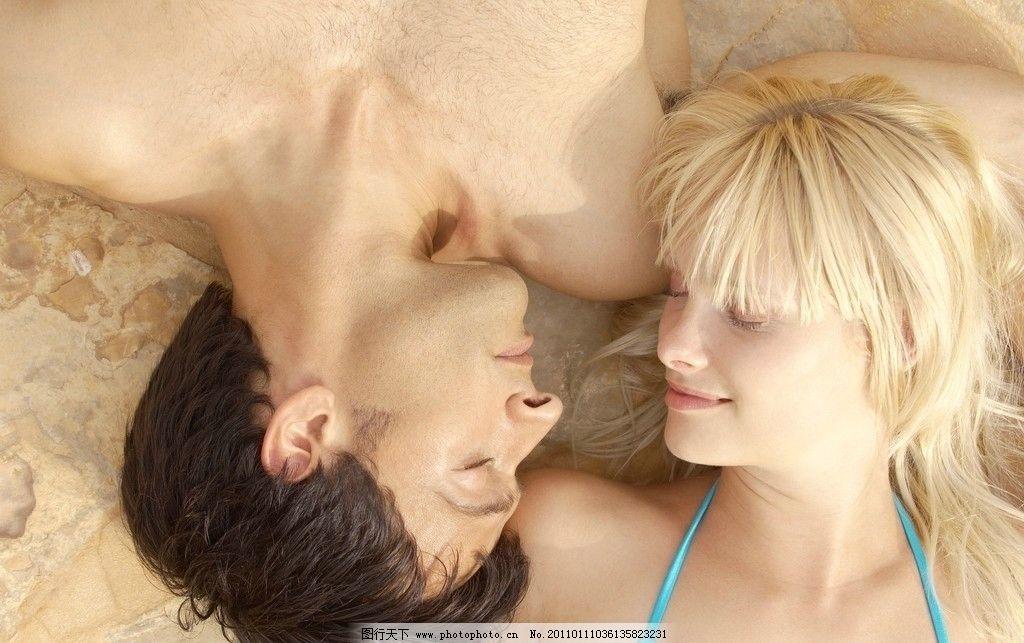 情侣 恋人 睡觉 休息 躺着 亲昵恋人 亲昵情侣 幸福伴侣 浪漫情侣图片