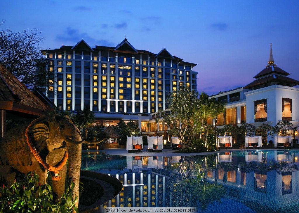 建筑摄影 建筑设计 欧式建筑 国宾馆 植物 花园城市 马尔代夫 酒店