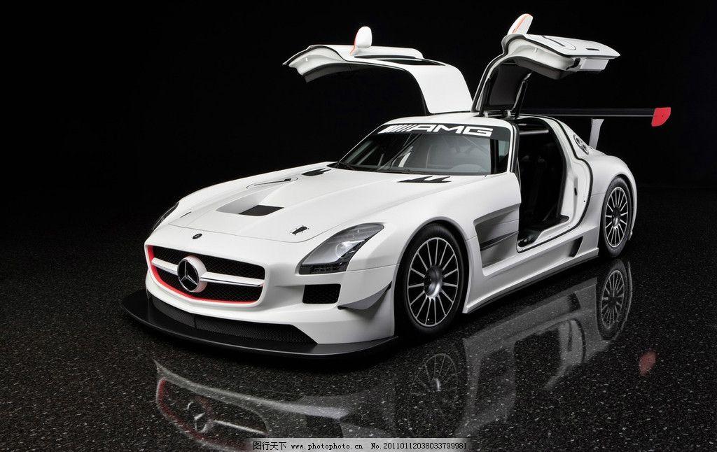 高清汽车图片,奔驰 奔驰车 白色汽车 汽车素材 跑车