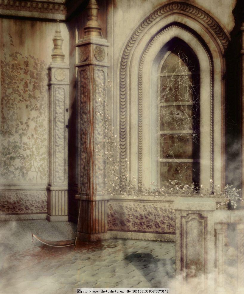 欧式动漫城堡图片
