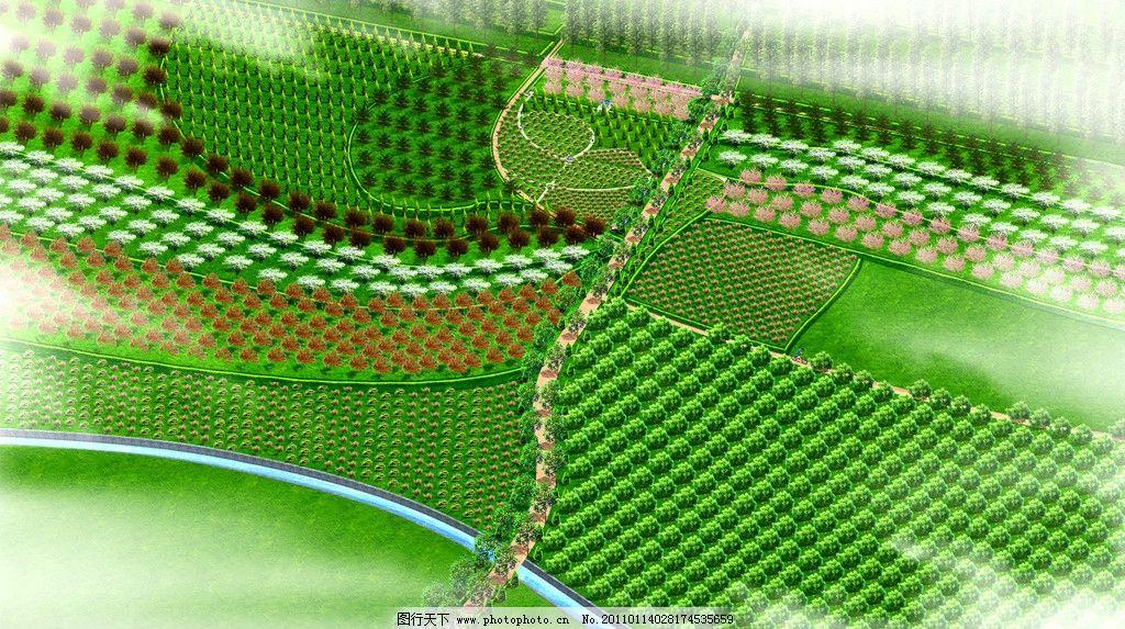 苗圃地效果图 园林设计 景观设计 环境设计 设计 192dpi jpg