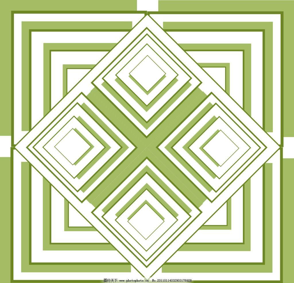 菱形几何 抽象 大方 线条 桌布 地板革 炕革 源文件