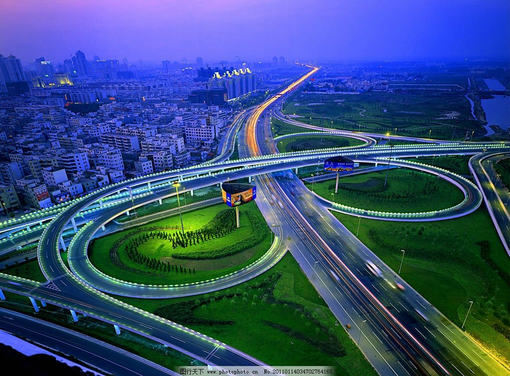 黄河路立交桥图片
