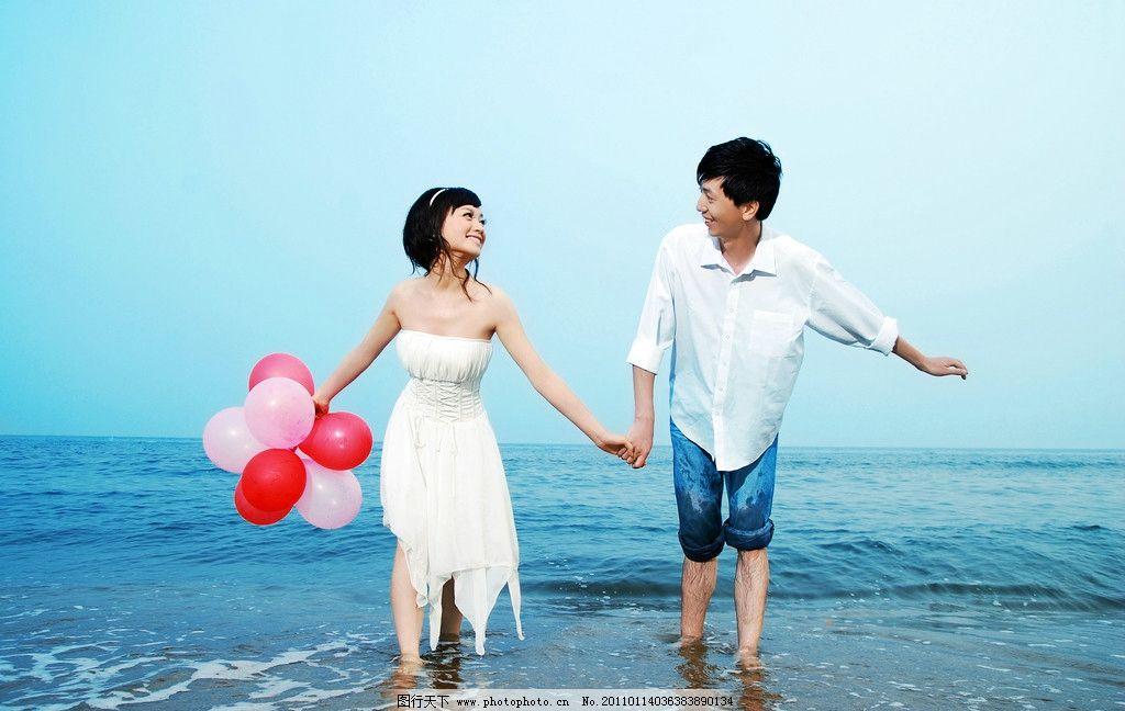 海边婚纱样片 海景 婚纱样照 情侣照 结婚照 浪漫海景 婚纱外景