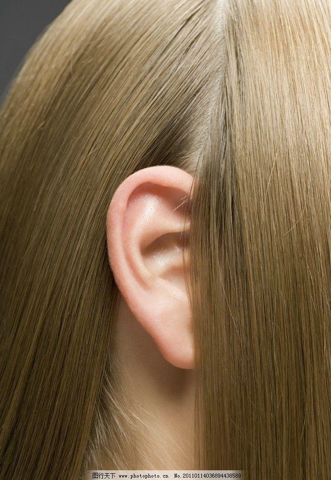 美女秀发 头发 发型 金发美女 魅力 时尚 潮流 美女头部特写