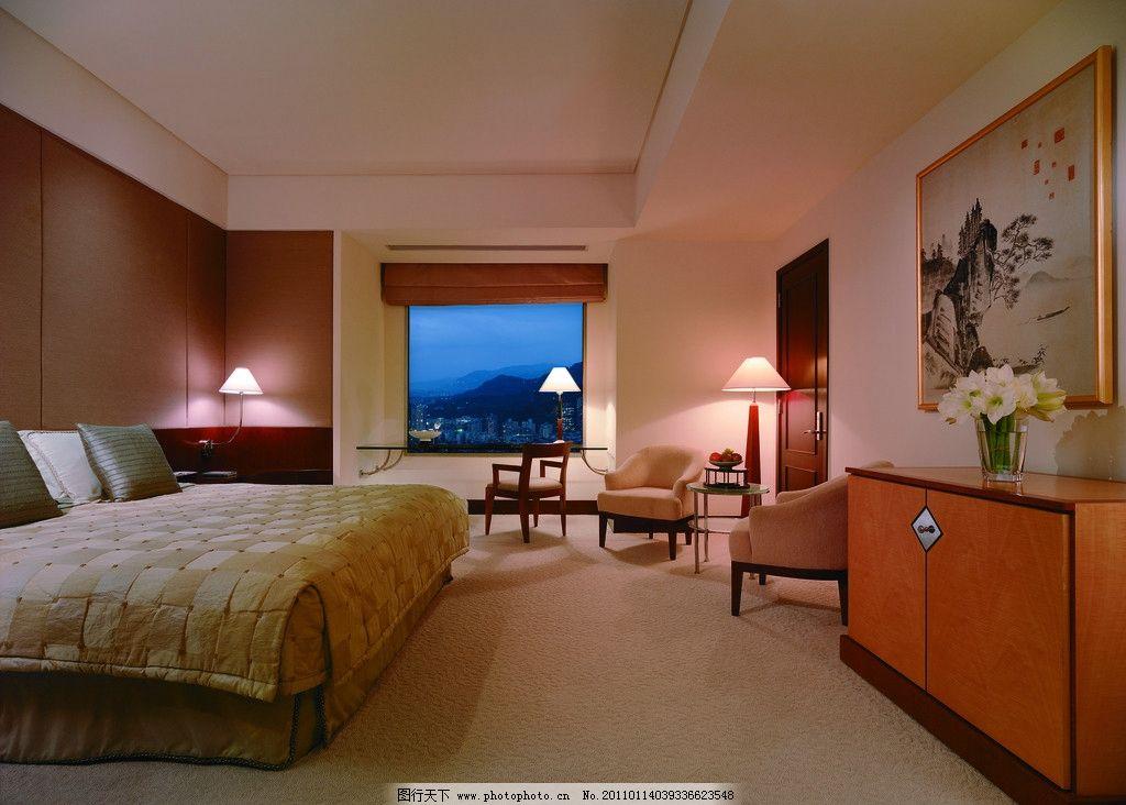酒店客房 五星级酒店 香格里拉酒店