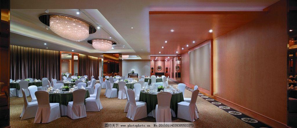 餐厅 宴会厅 酒店设计 五星级酒店 水晶灯 香格里拉酒店 背景墙设计