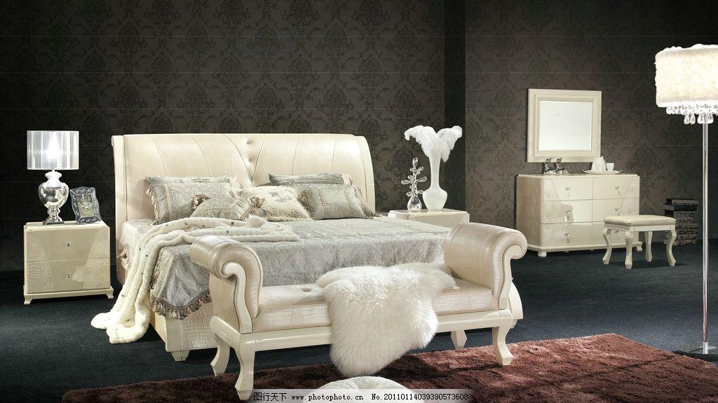 现代欧式家具 白色家具