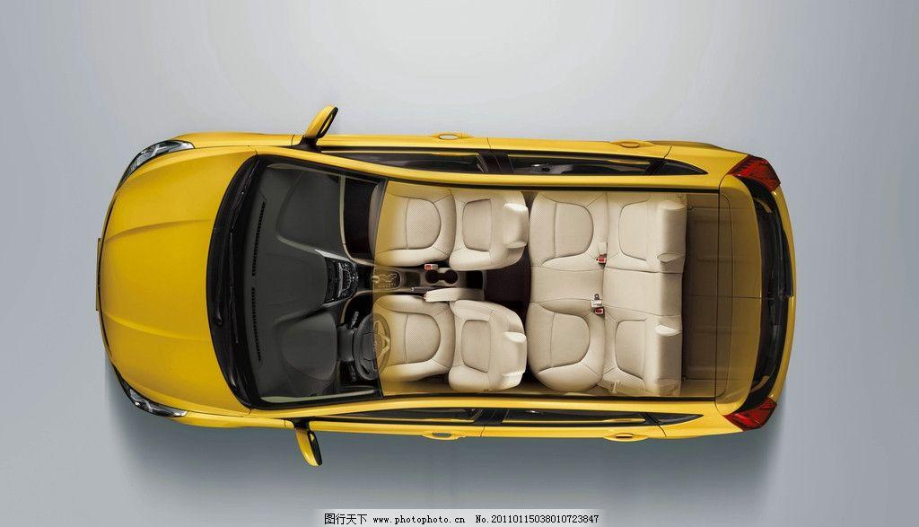 轿车俯视图