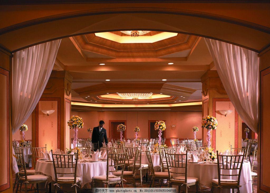 宴会厅 酒店设计 五星级酒店 水晶灯 香格里拉酒店 背景墙设计