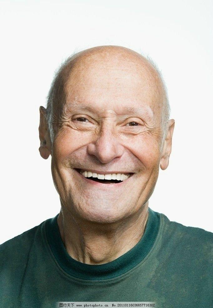 高兴的老年人表情图片图片