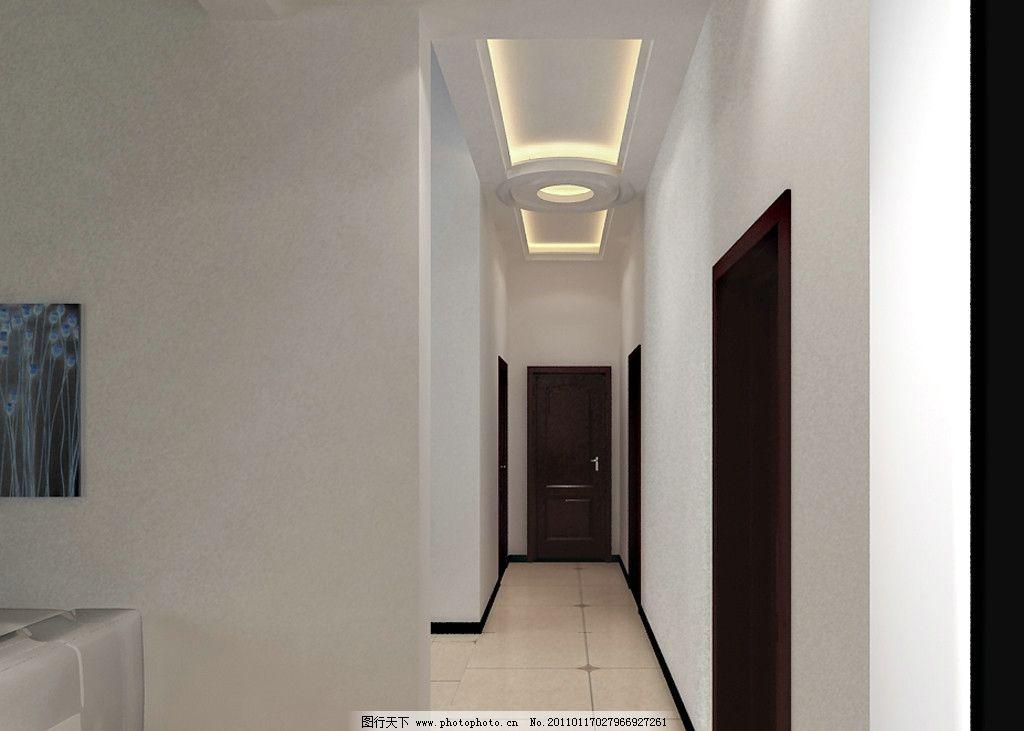 过道走廊地板砖效果图房子过道地板砖效果图图片1