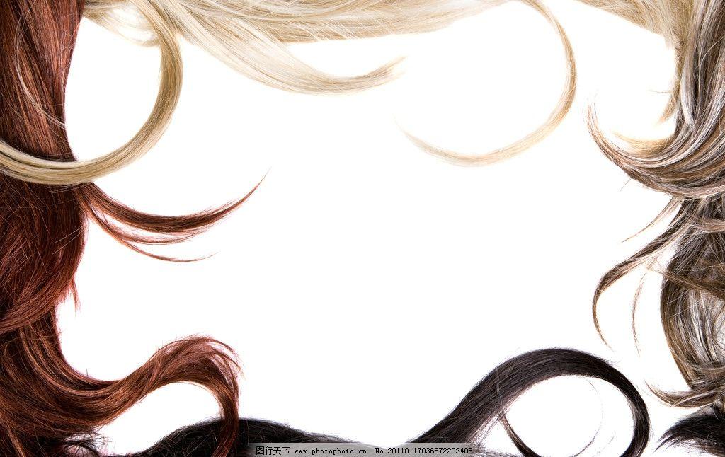 花样秀发头发图片图片