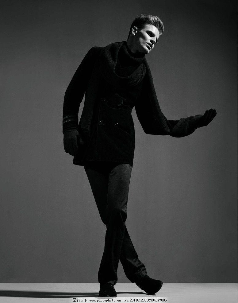 男模特 时尚 时尚男模特 美男模特 男装 冬装 人物摄影 人物图库 摄影