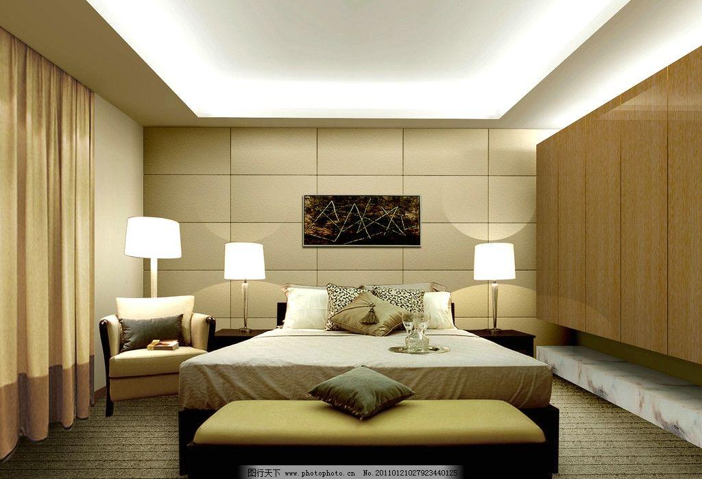 客厅效果图      电视背景 灯光 摆设 室内设计 环境设计 设计图片