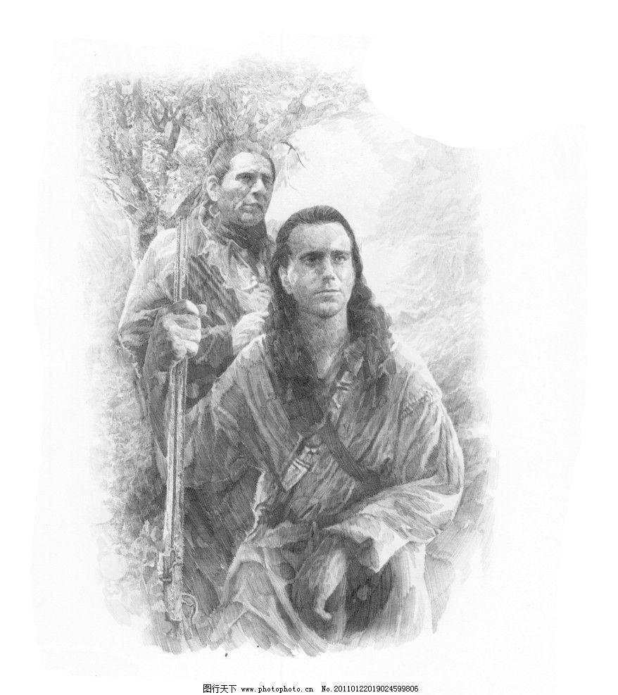 场景素描 经典素描 素描头像 头像素描 素描 素描场景      肖像 人物