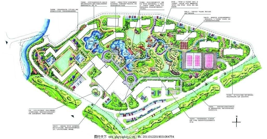 手绘景观 景观手绘 自然景观 景观 园林景观 景观设计 小区景观 建筑