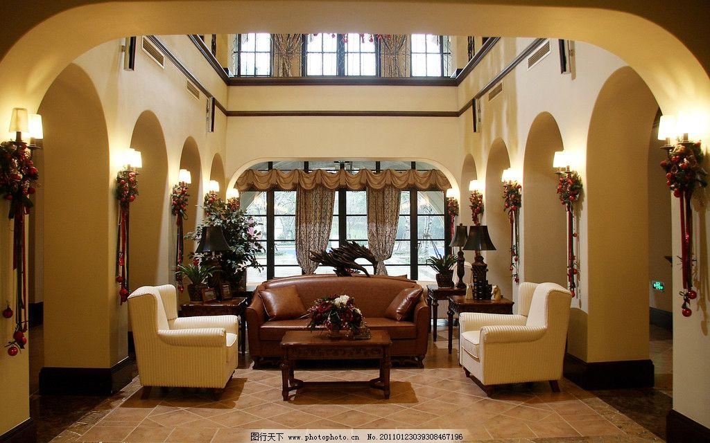 欧式豪华别墅内景图片