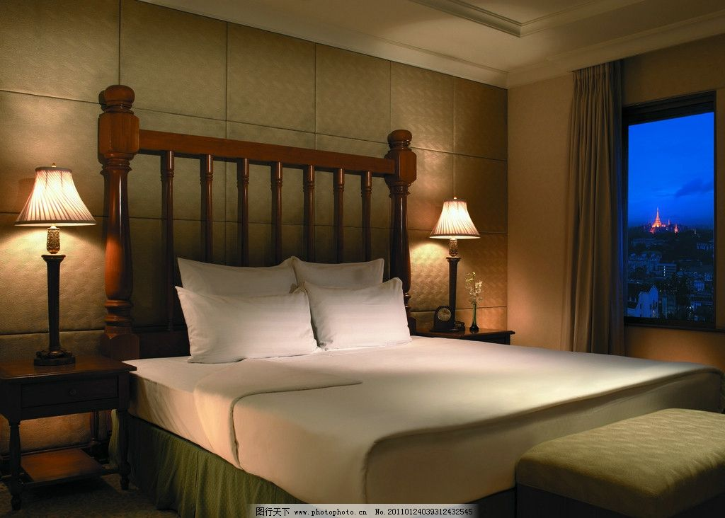欧式家具 中式卧室