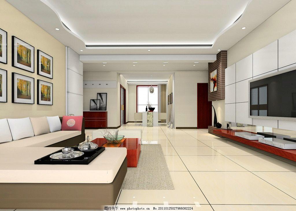 大厅侧面效果图图片_室内设计_环境设计_图行天下图库