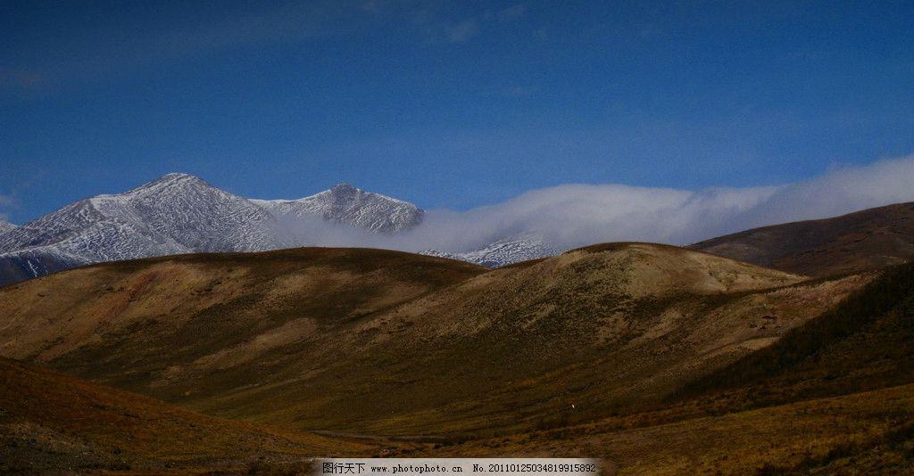 青海雪山 青海 雪山 自然风景 自然景观 摄影 180dpi jpg