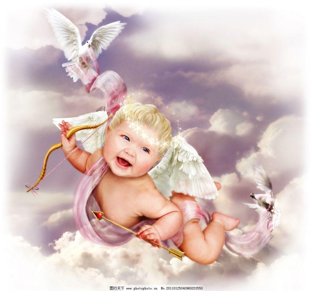 飞翔 小天使 婴儿天使 宝宝天使 婴儿 宝宝 幼儿 宝贝 娃娃 孩子 可爱