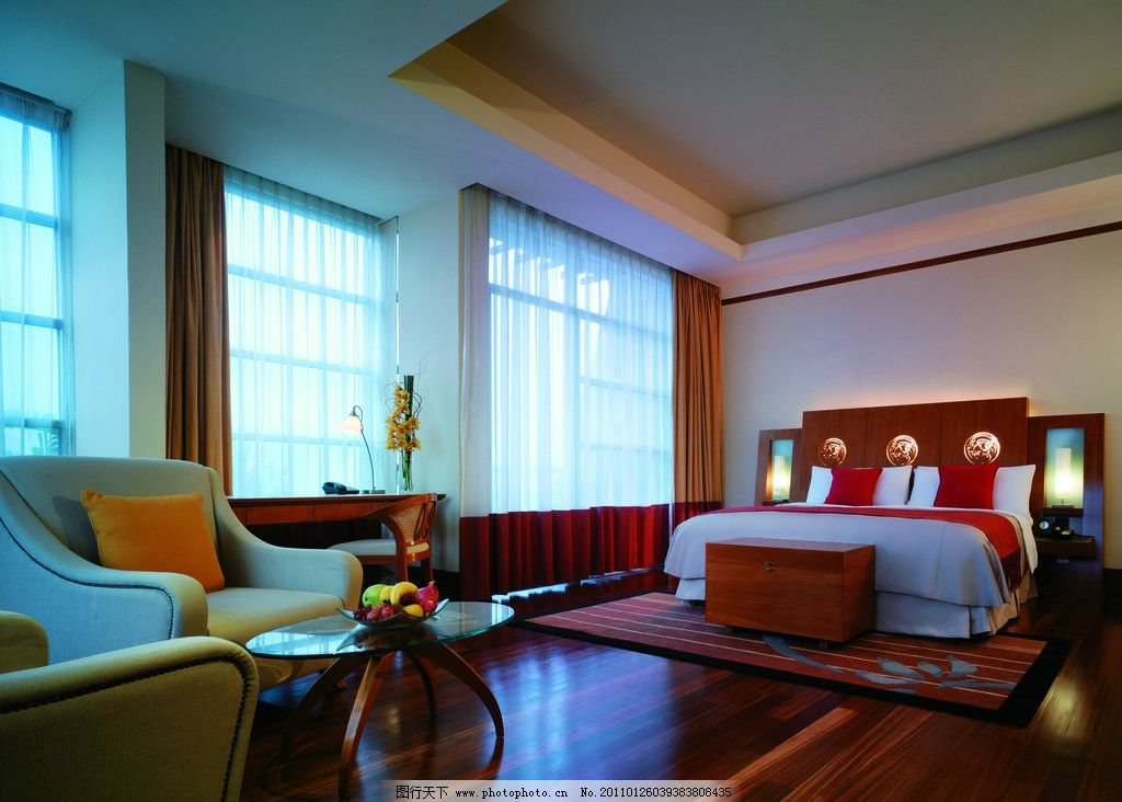 欧式豪华酒店房间