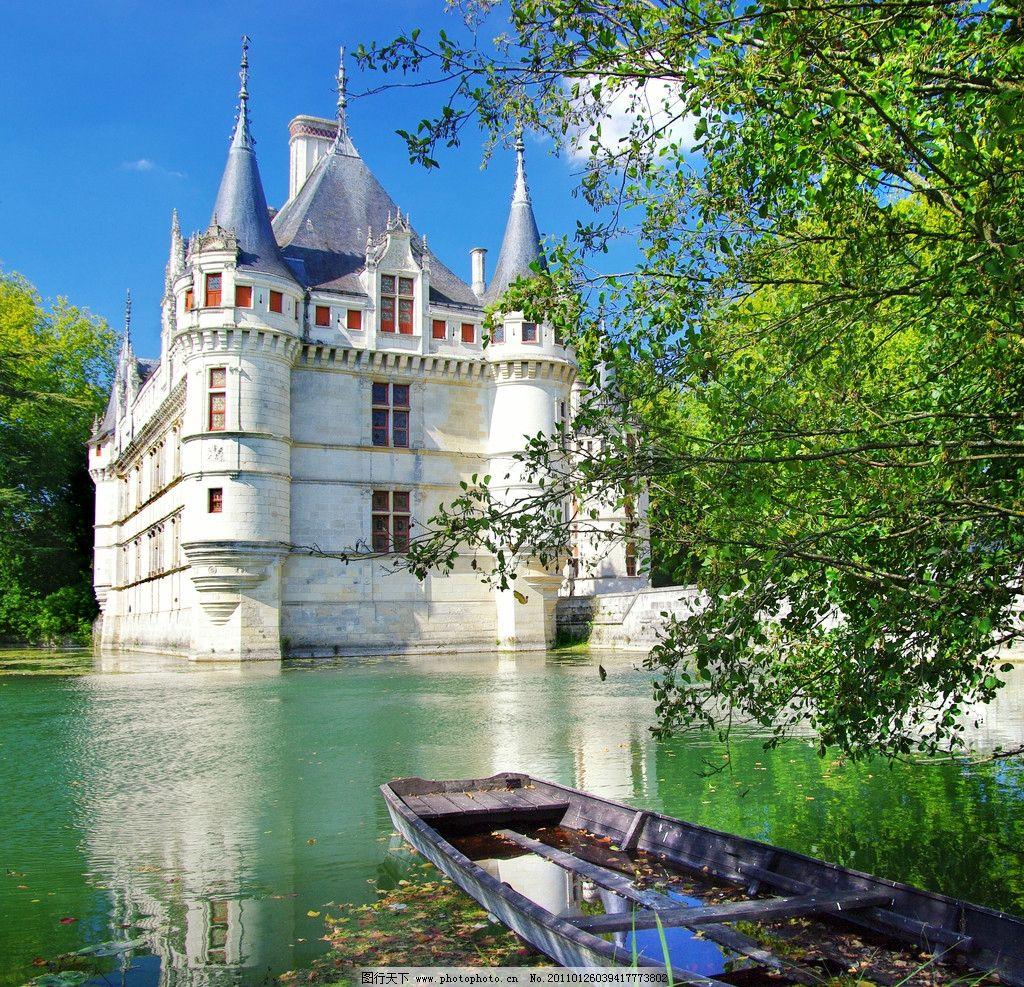 欧式别墅园林城堡