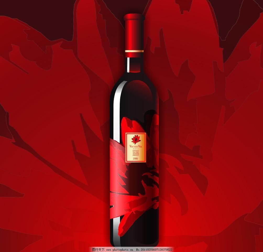 cdr 广告设计 海报设计 红酒 红酒包装 红酒海报 红色背景 酒 葡萄酒