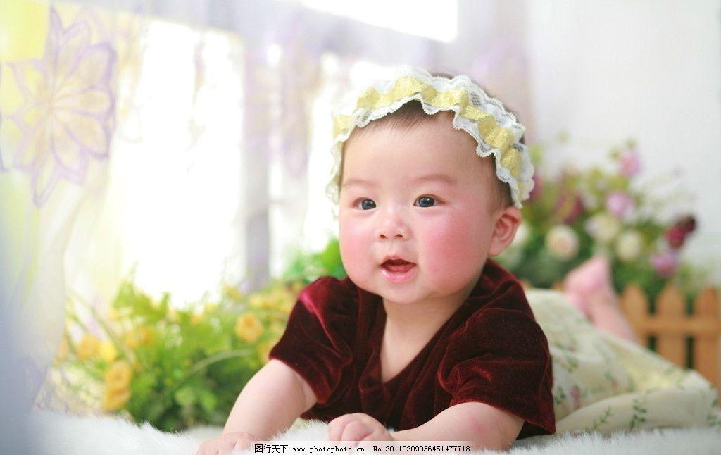女宝宝 婴儿 可爱宝贝 百天 半岁 周岁 儿童摄影 大眼睛 儿童幼儿