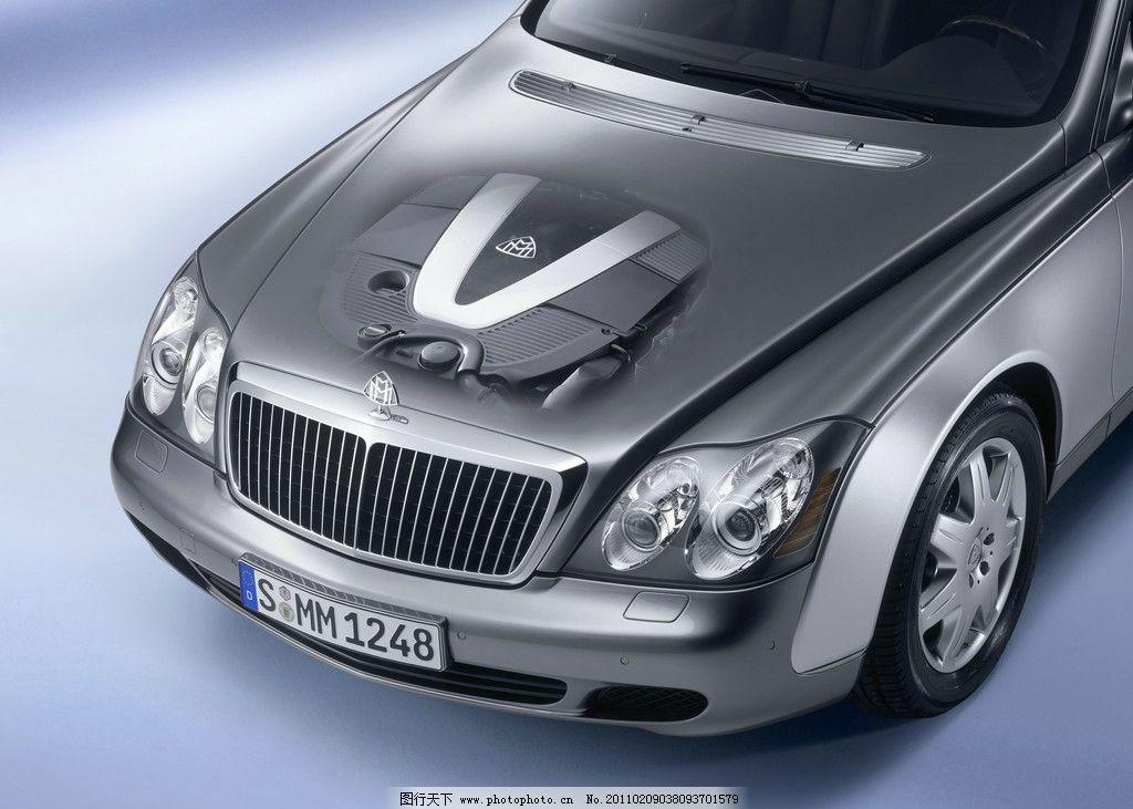 迈巴赫汽车发动机图片