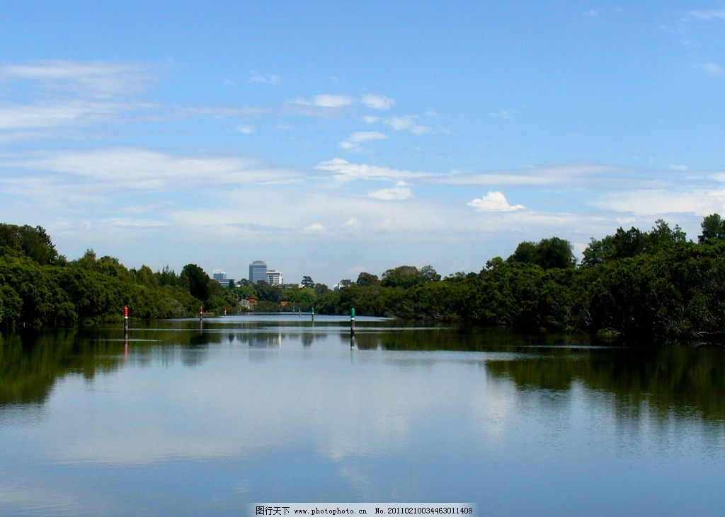 河流图片_山水风景_自然景观