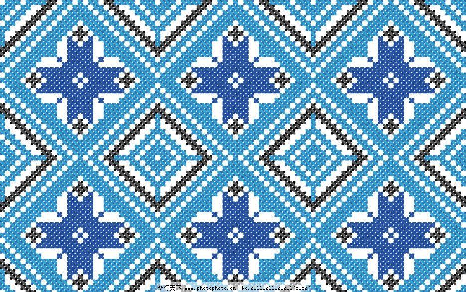 欧式地毯无缝花纹花边底纹图片