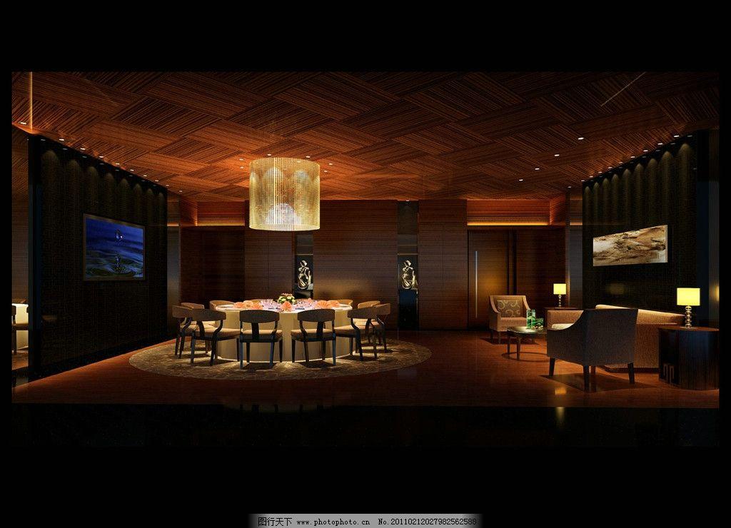 包间 现代中式酒店 室内设计 环境设计 设计 72dpi jpg